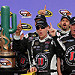 Harvick punches way into Chase second round/Johnson knocked out