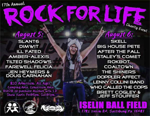 July 31: Rock For Life