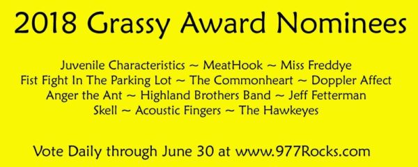 May 27, 2018: Grassy Nomination Show