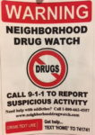 Butler's Neighborhood Drug Watch Continues Effort