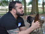 Armstrong's Healing Heroes Program Pairs Veterans With Service Dogs