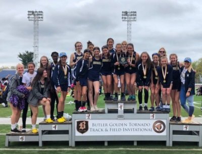 Butler Jr high Track teams sweep Invite